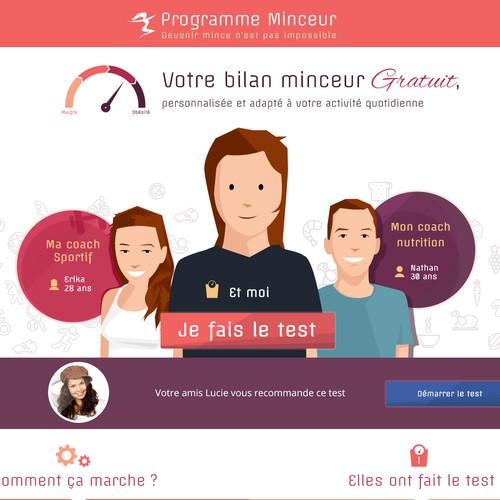 Site internet - Programme Minceur