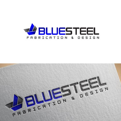 Masculine logo for BlueSteel
