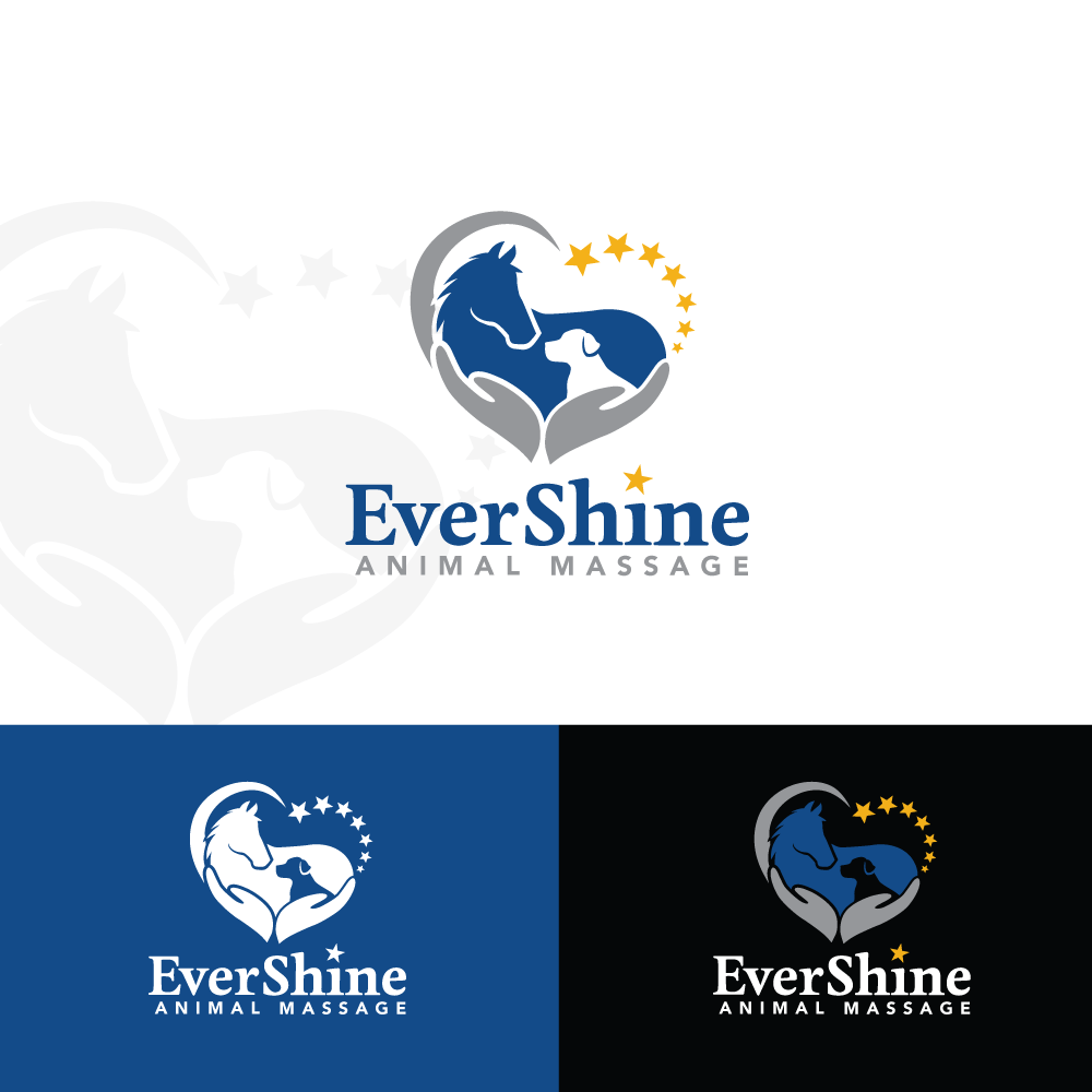 Evershine Animal Massage needs your help creating a super cool logo!
