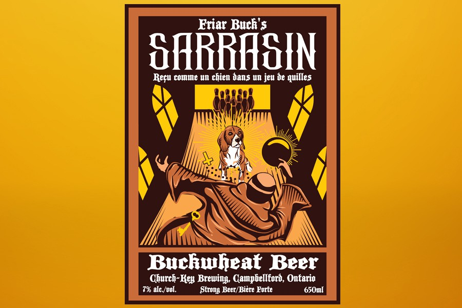 Buckwheat Beer Label