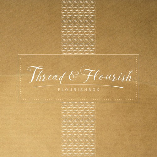 Create a fresh logo and website for FlourishBox/Thread & Flourish!
