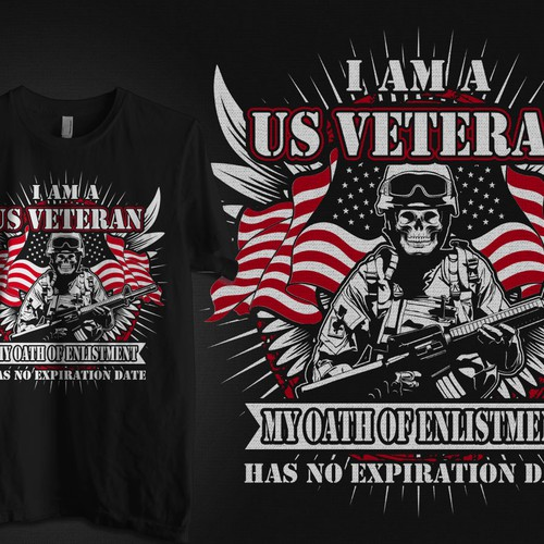 Shirt For US Veterans 3 Guaranteed Winner