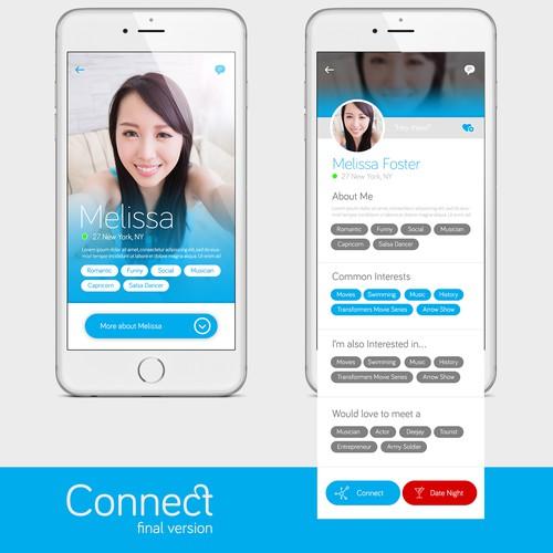UI Design for a Dating App