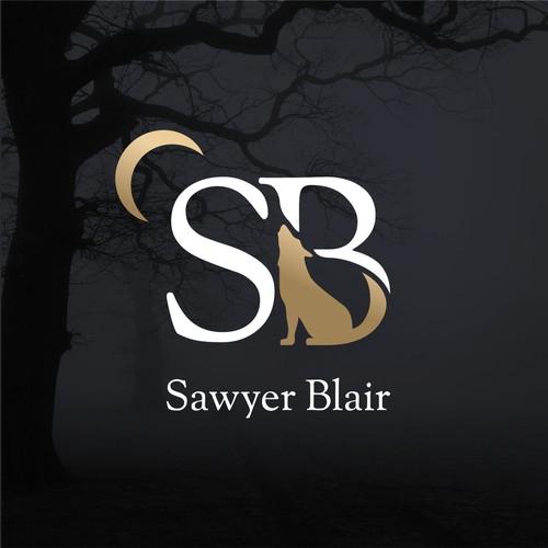 Logo for a fantasy author
