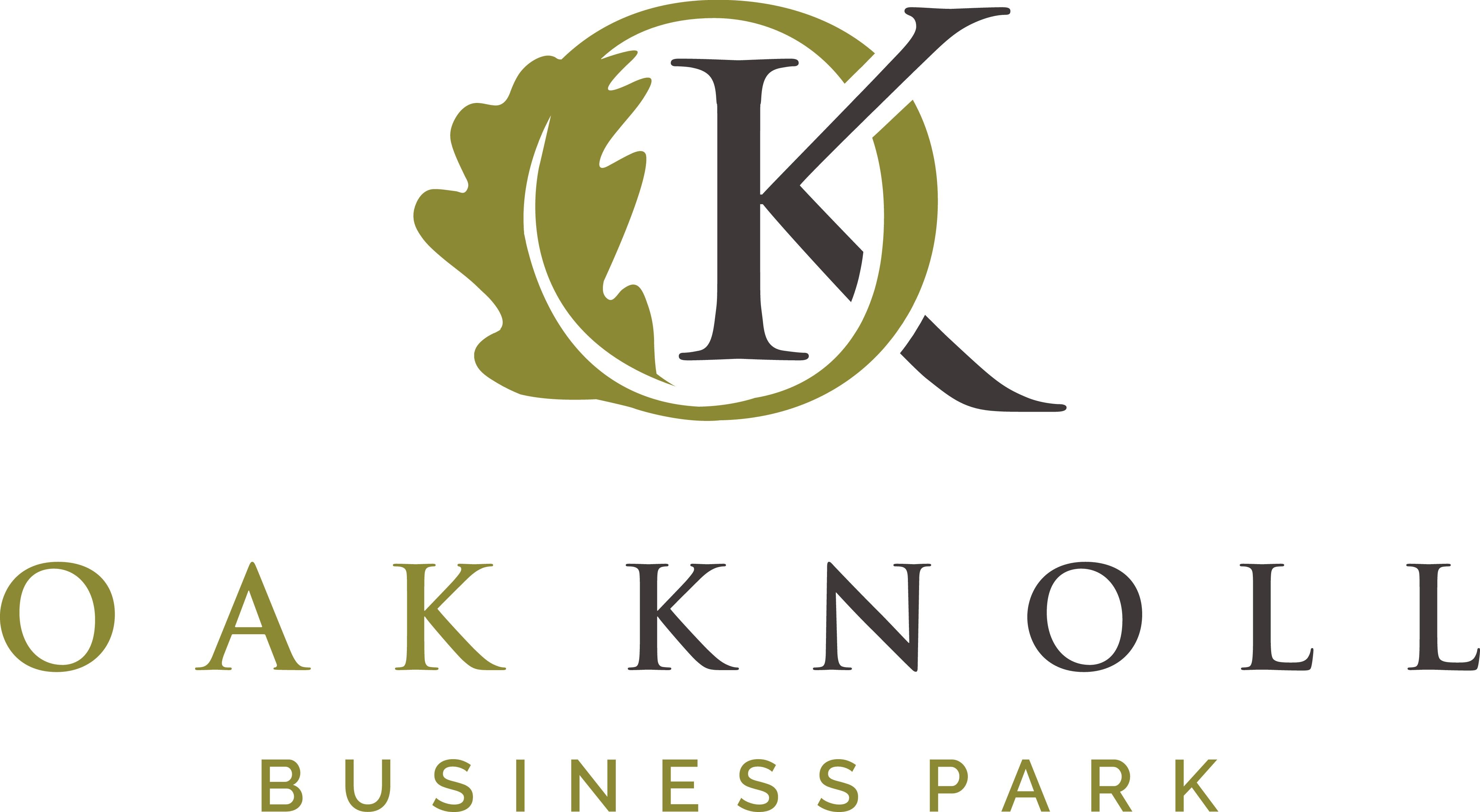 Create a logo for Oak Knoll Business Park