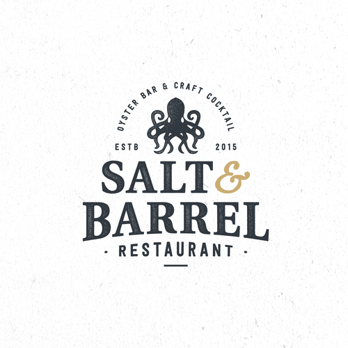 Create a modern urban logo for the classic oyster/speakeasy bar