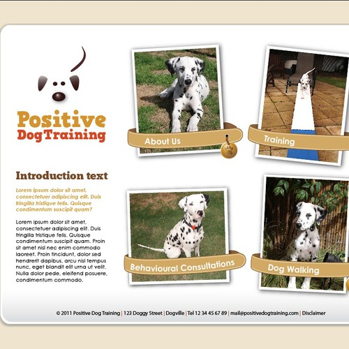 Help Positive Dog Training with a new website design