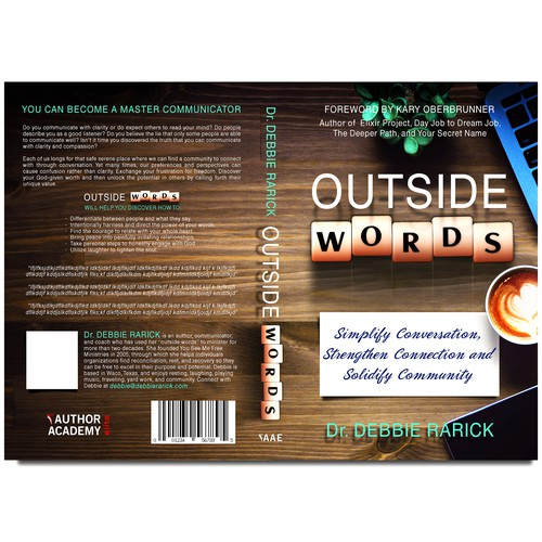 Book cover OUTSIDE WORDS