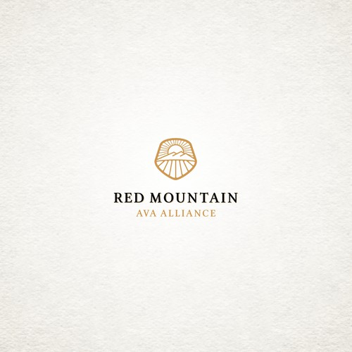 Logo for organization that seeks to promote prestigious grape growing and winemaking region in Washington state.
