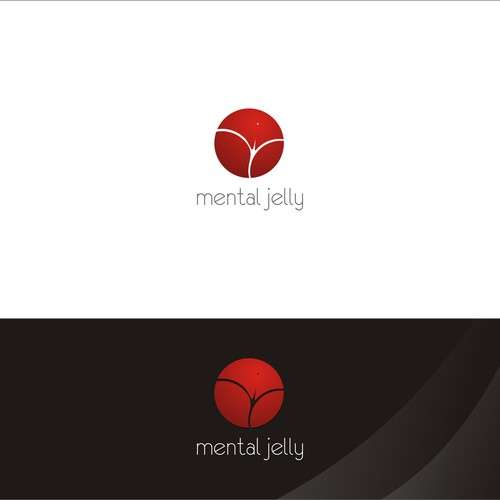 Creat a sexy/sensual logo for a photography/apparel brand, Mental Jelly.