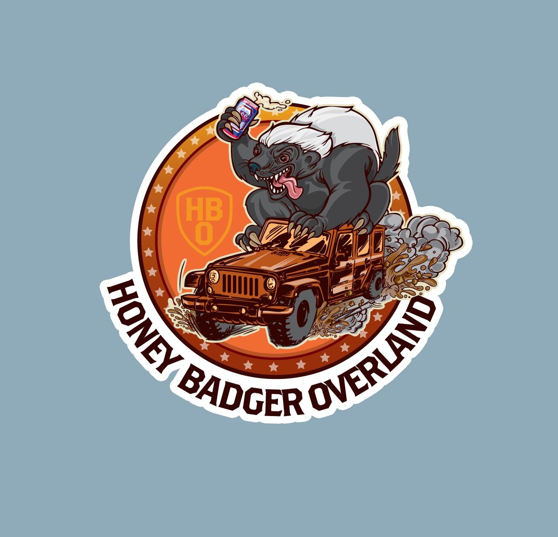Irreverent Illustration/Logo needed for Honey Badger Overland
