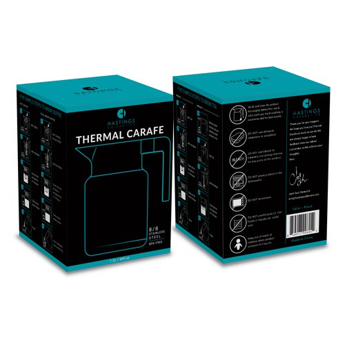 package design for Thermal Carafe