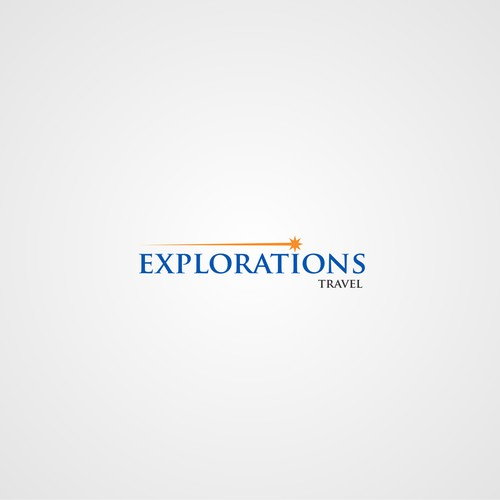"""Cool logo needed for """"Explorations Travel,"""" consultants for upscale travel adventures/explorations!"""