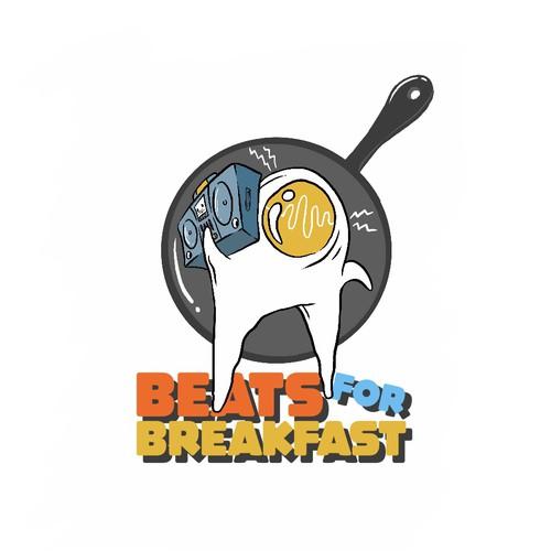 Final design for Beat for Breakfast logo
