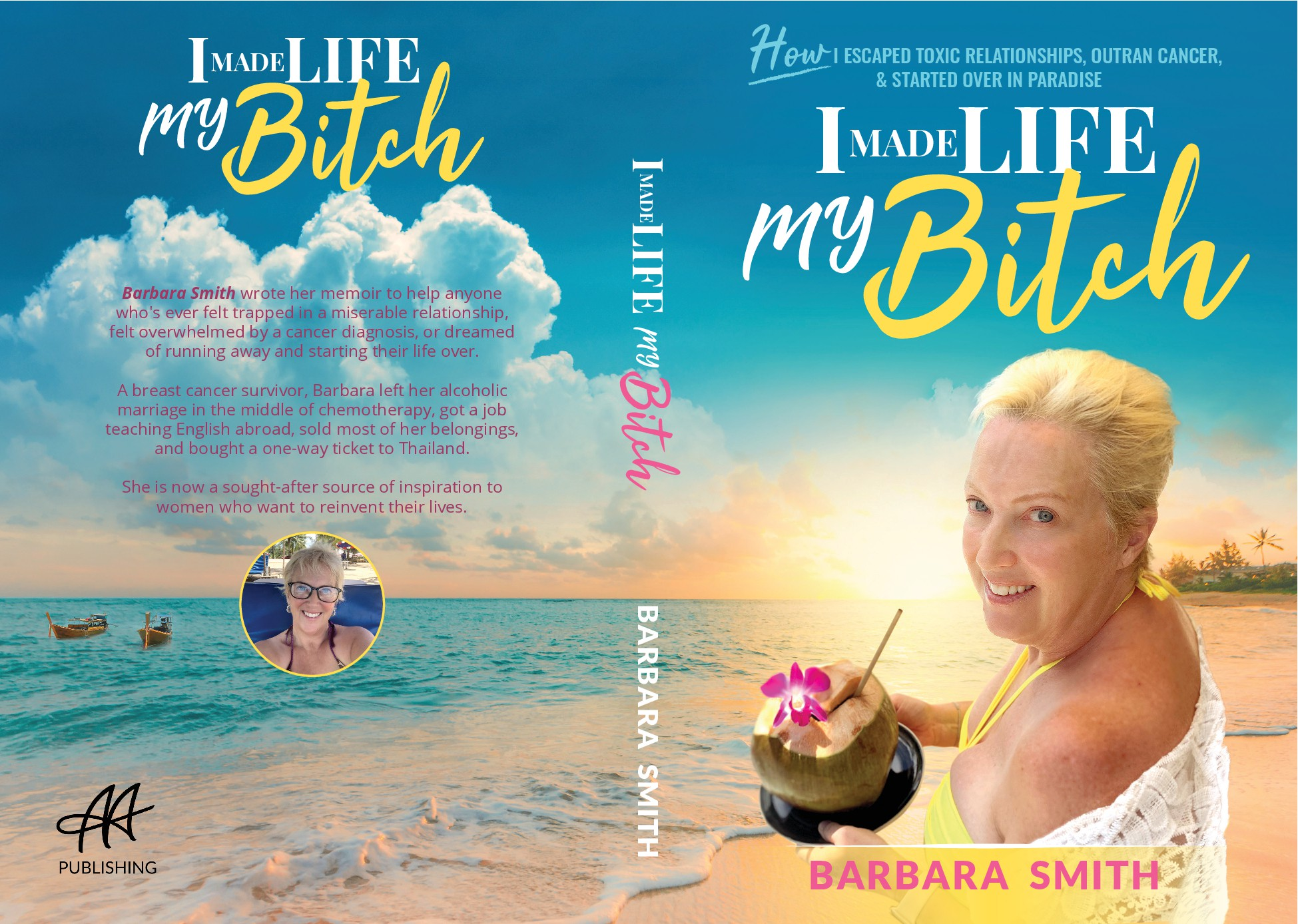 Design a bestselling book cover for Female Baby Boomer's Journal of Transformation