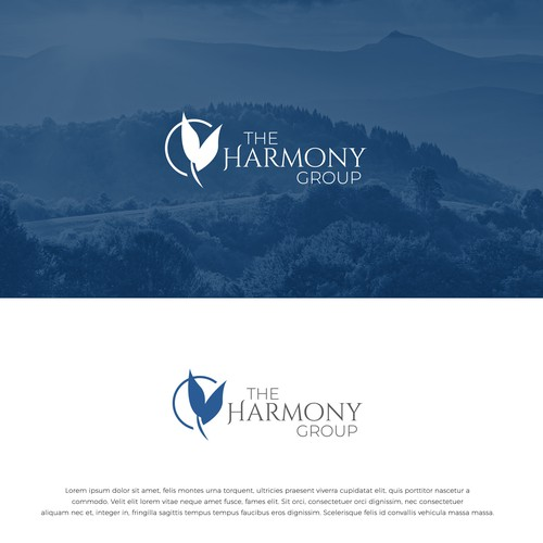 Design a classy and calming logo for a real estate services company