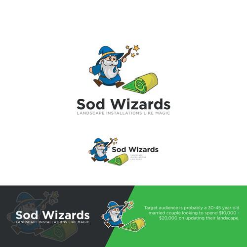 Fresh Logo for Sod Wizards
