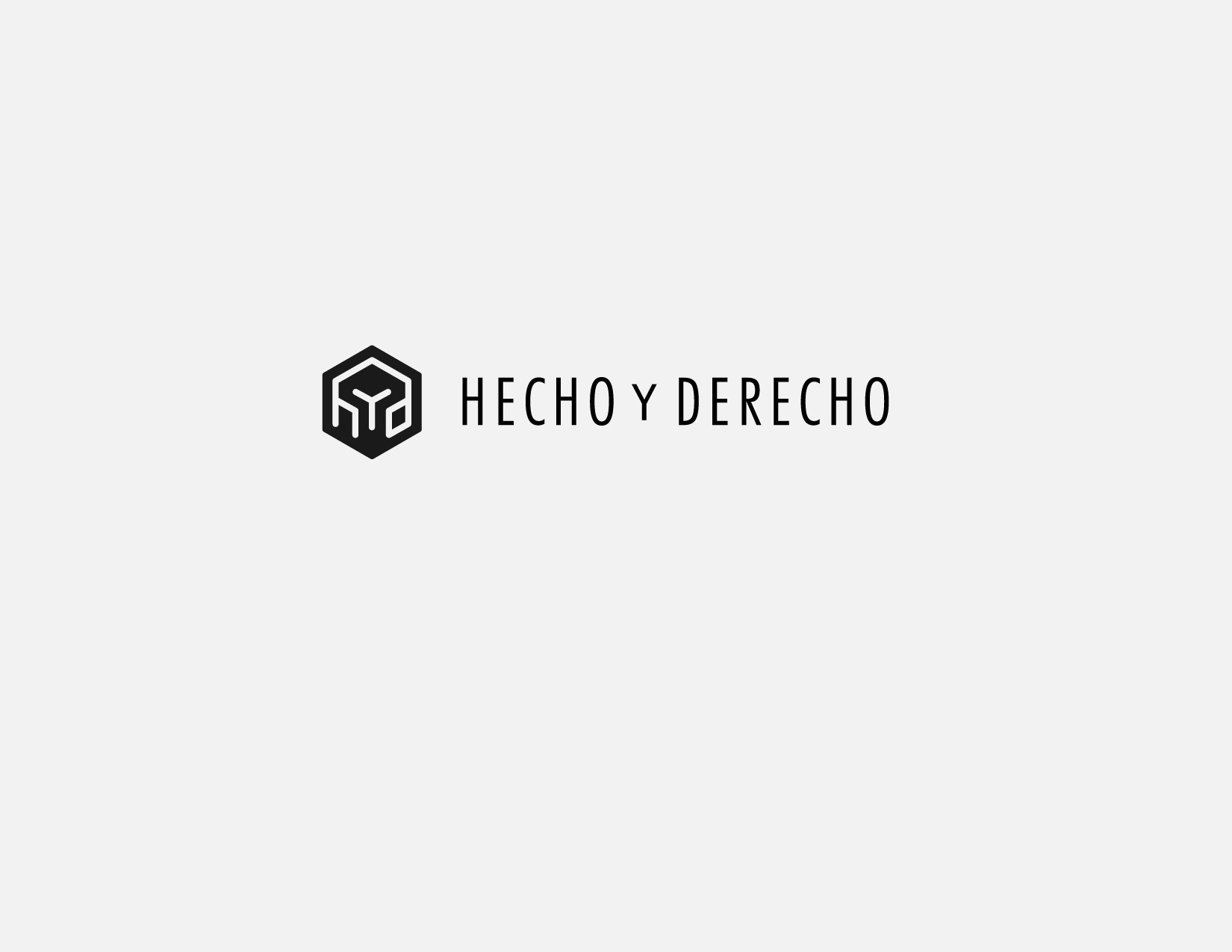 New logo wanted for hecho y derecho