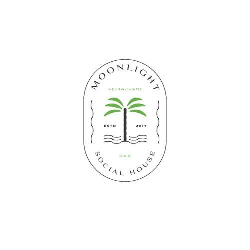 Logo design for a beach restaurant