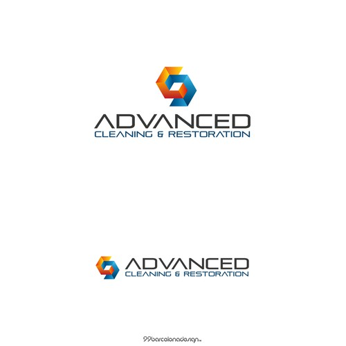 Create the next logo for Advanced Cleaning & Restoration