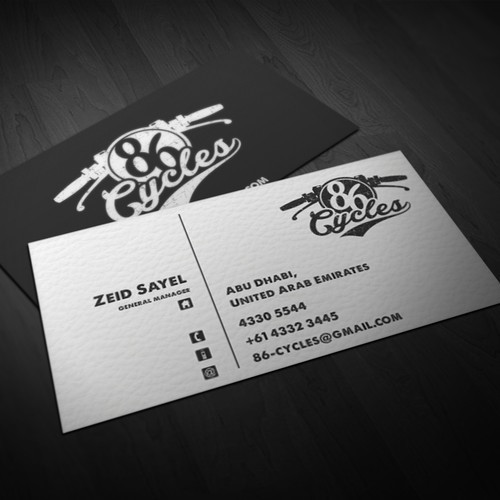 Stand out from the crowd, Custom Motorcycle Workshop seeking logo & business cards