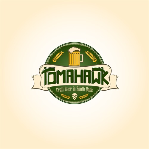 Tomahawk beer logo
