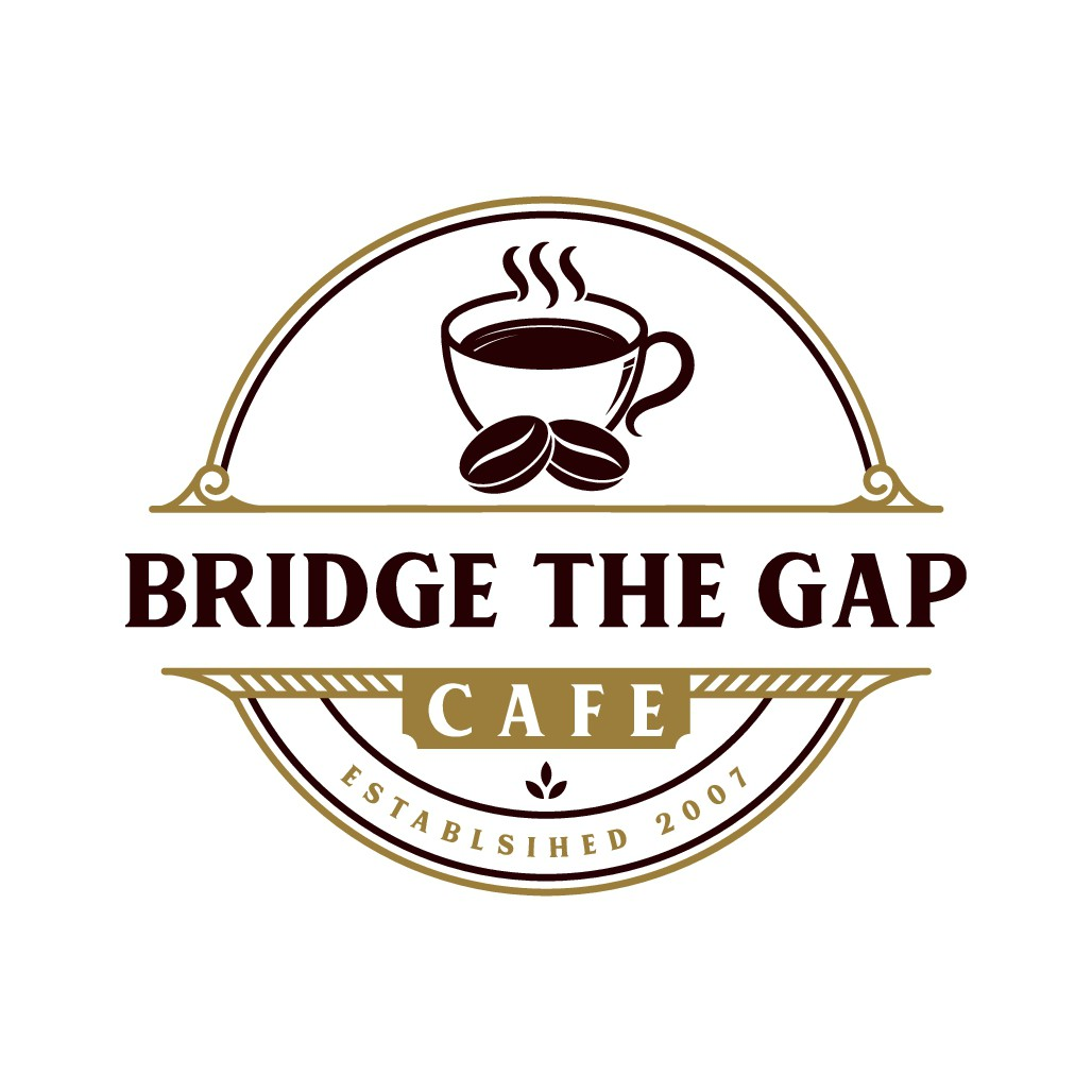 Fresh but cool new logo for industrial site bridge cafe