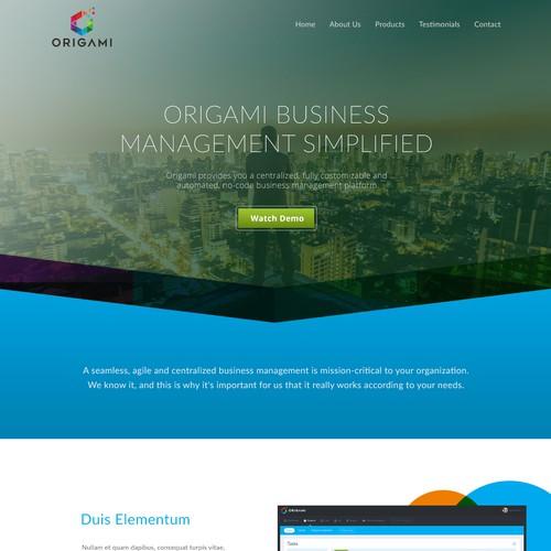 Origami Homepage