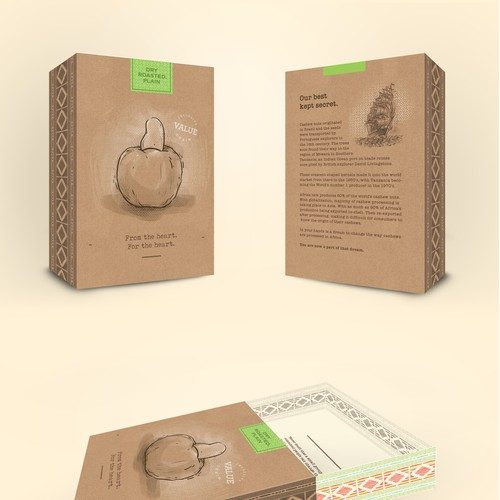 Gift Box Design for More Than Cashews