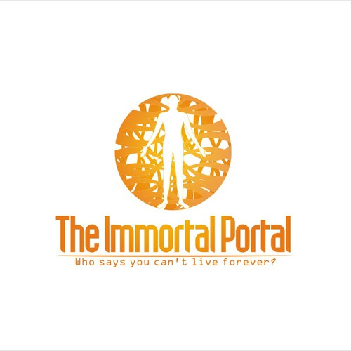 Create the next logo for The Immortal Portal
