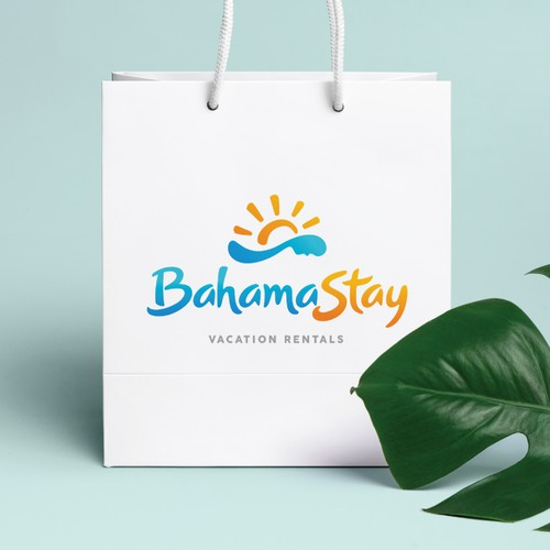 Fun summer themed logo design