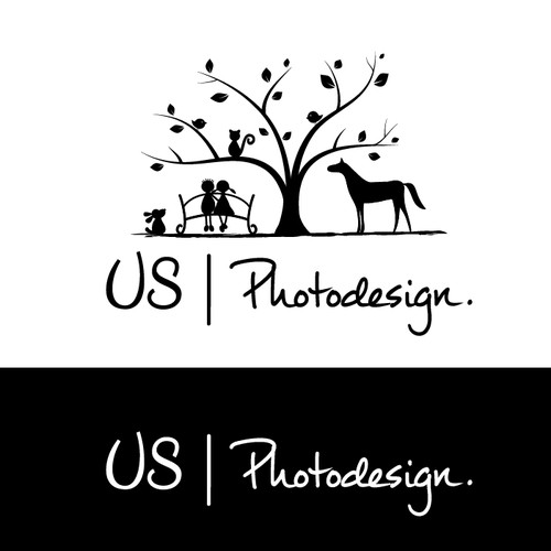 Logo für US Photodesign.