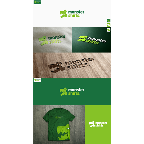 Create a modern and playful logo for an apparel printing company