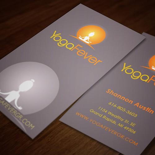 Business card Yoga