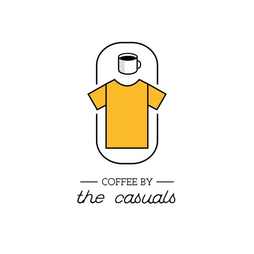 Logo Concept for 'Casual Coffee Company'