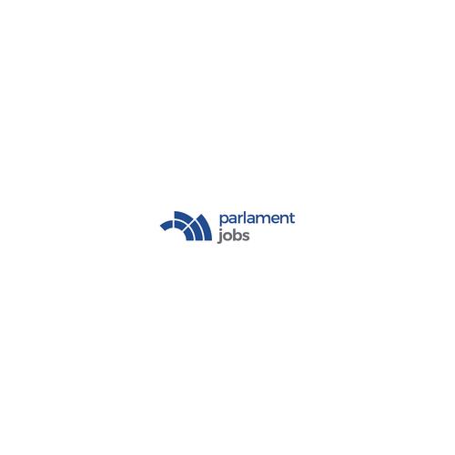 Parlamentjobs logo concept