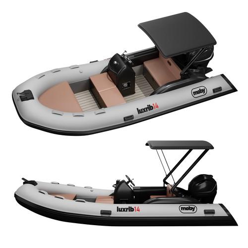 3d modeling boat