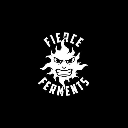 logo for fierce ferments