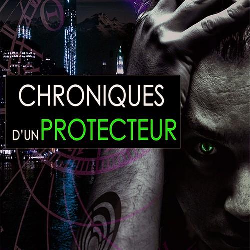 Créer une couverture de livre pour une histoire de science fiction
