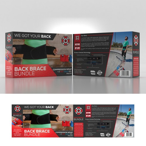 back packaging designs entry