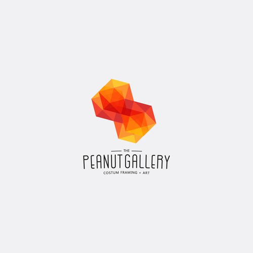 Logo for a costum frame shop