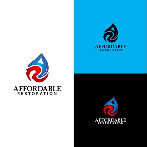 Logo For A Water, Mold & Fire Restoration Company