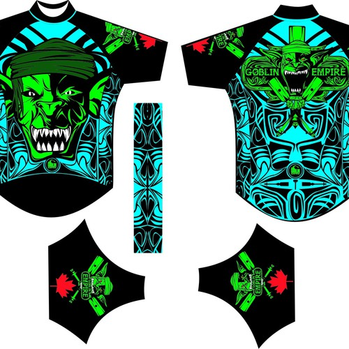 Awesome dragon boat team jersey design required