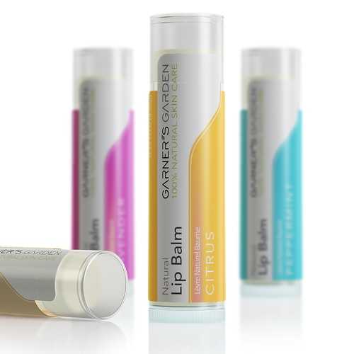 Lip Balm Packaging Design