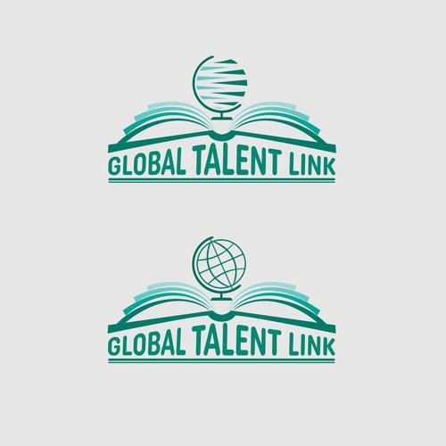 logo concept for Global Talent Link
