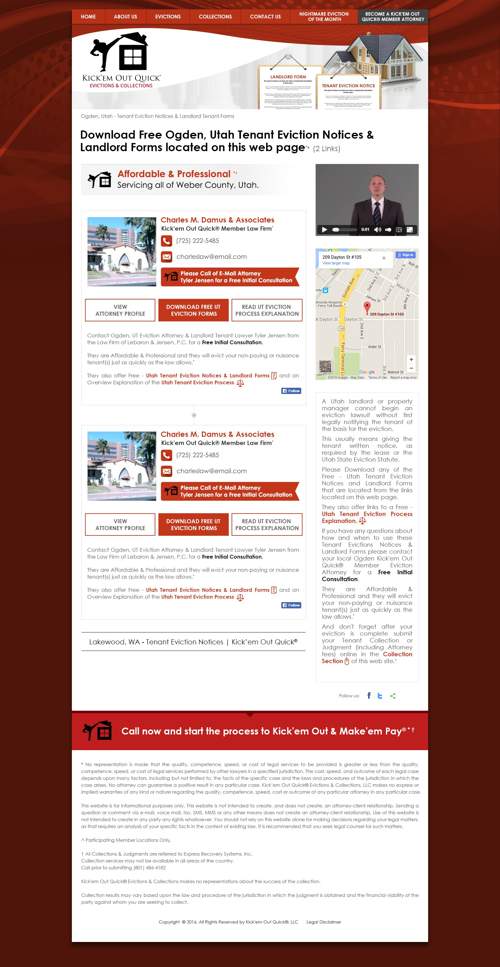 Multiple Land Page Web Design