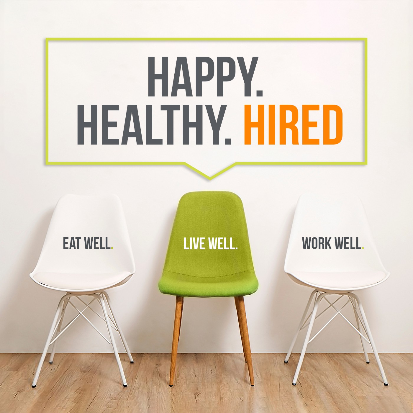 Holistic health for the busy professional looking to land the perfect job podcast art