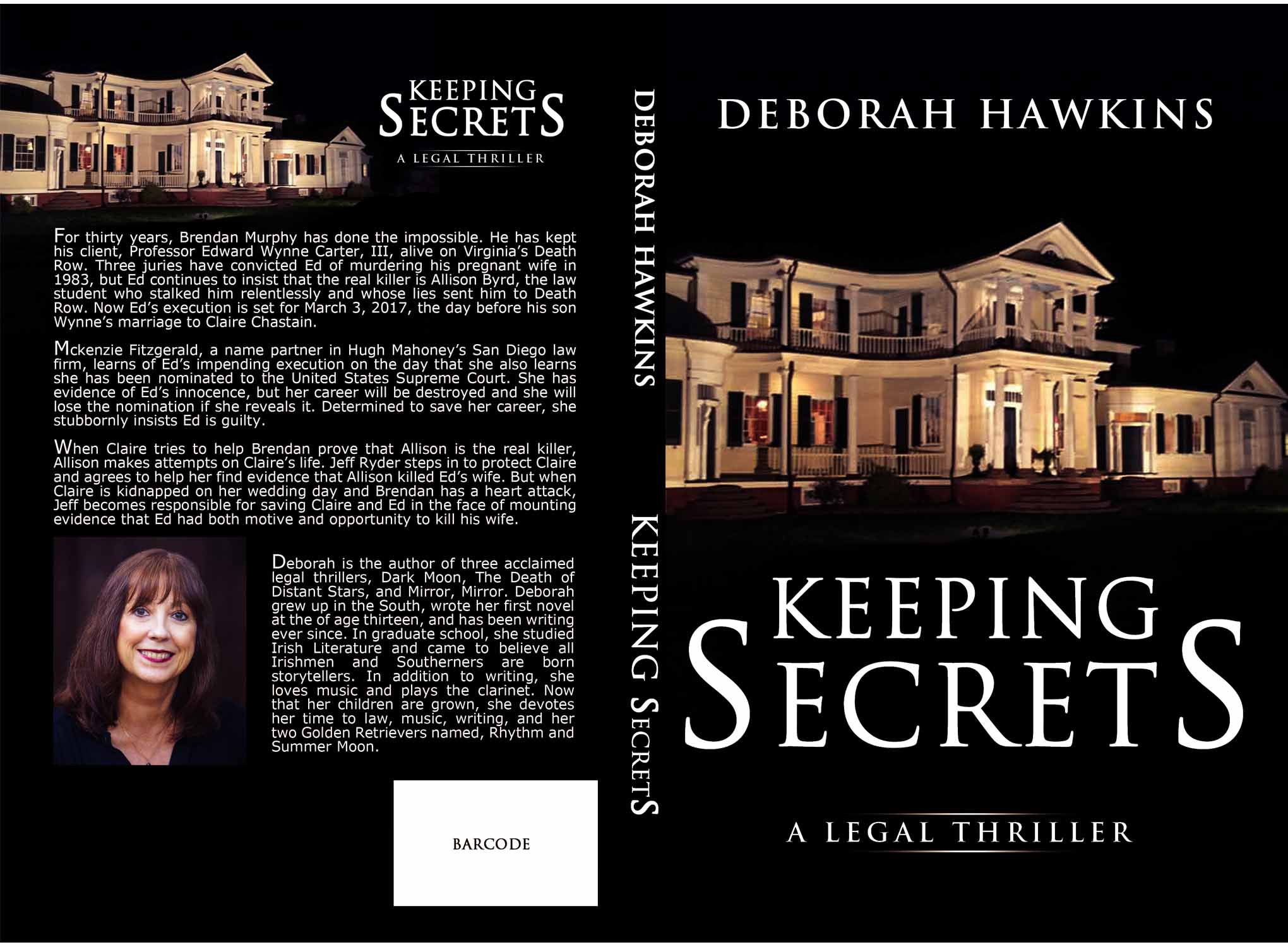 Design  a cover for a best selling author of  legal thrillers on amazon