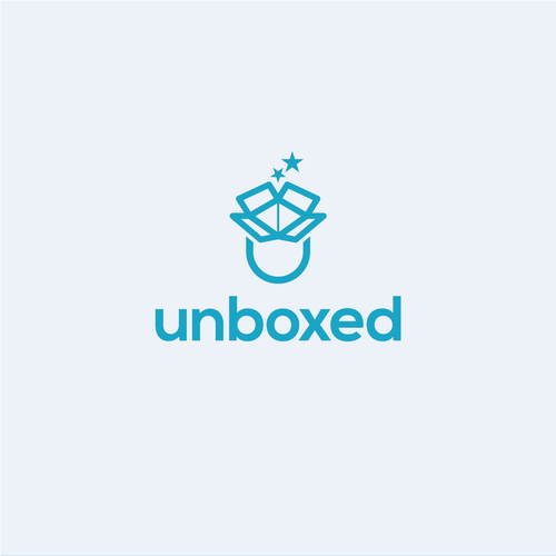 Clever logo for unboxed