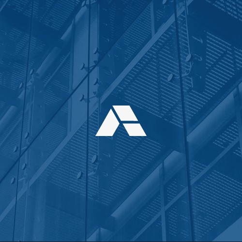Architectural curtain wall logo